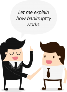It is crucial for co-debtors and co-signers to understand how bankruptcy works from the beginning.